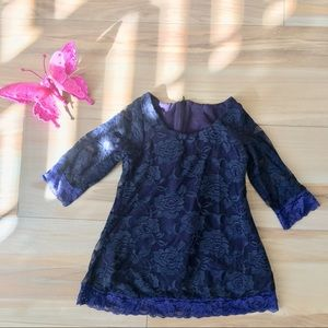 Other - Navy lace dress